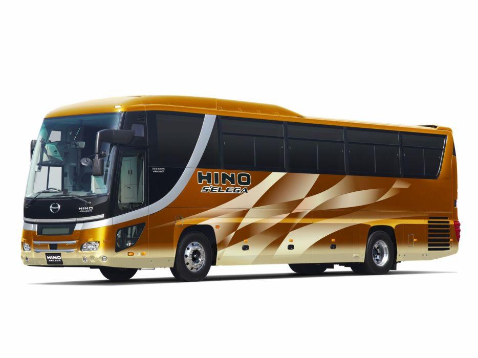 2005 Hino Selega bus transport semi tractor wallpaper