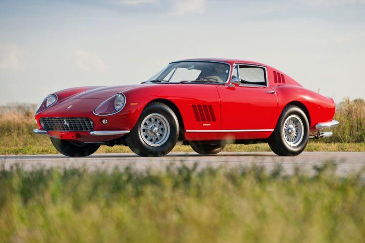 1965 Ferrari 275 GTB 3-C Acciaio Pininfarina classic supercar wallpaper