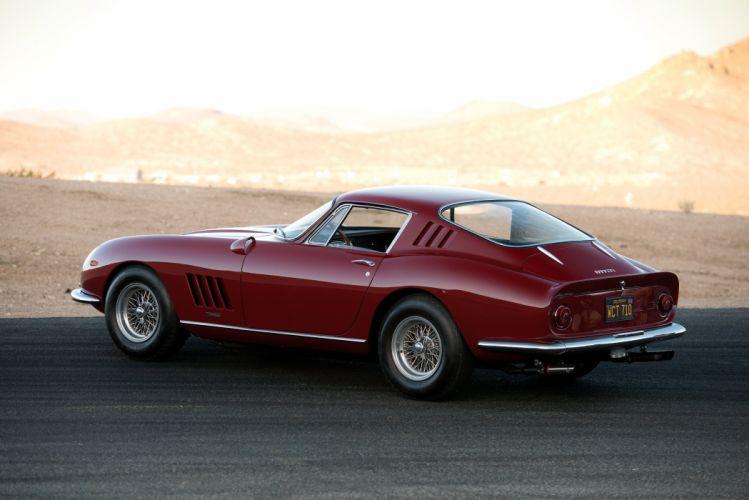 1966-68 Ferrari 275 GTB4 Acciaio classic supercar wallpaper
