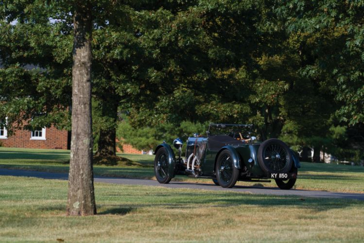 1929-32 Aston Martin 1-5Litre International vintage luxury wallpaper