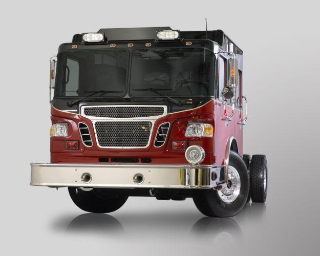 2010 Spartan Gladiator Evolution emergency firetruck semi tractor wallpaper