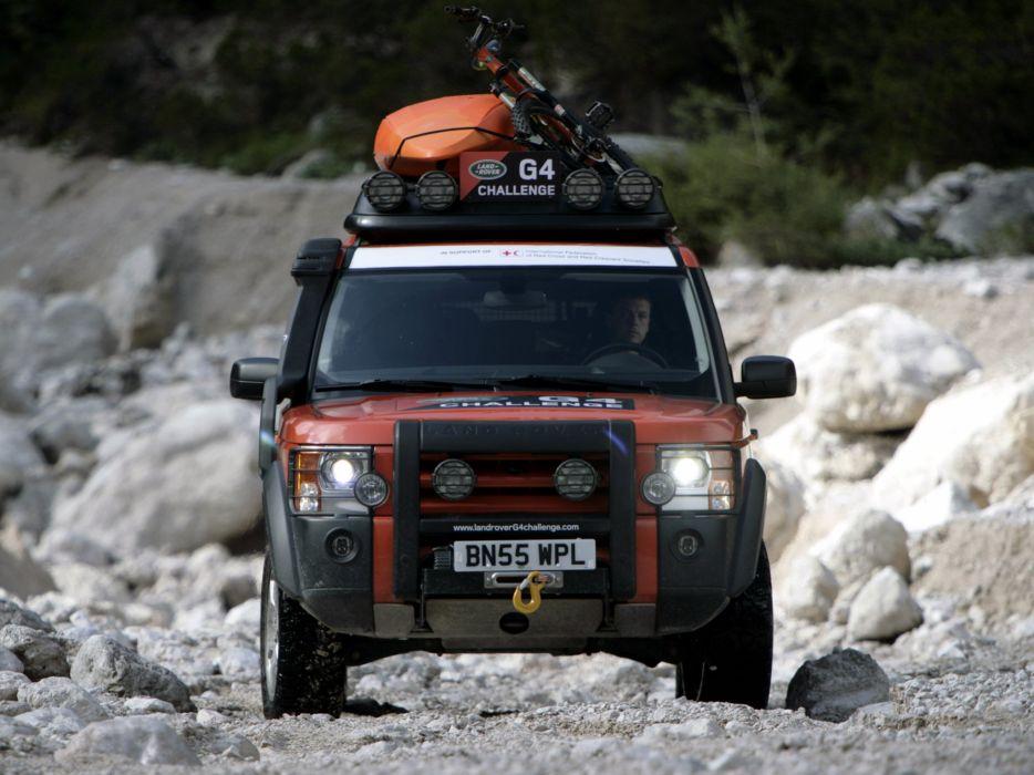 2008 Land Rover LR3 G-4 Challenge suv 4x4 truck wallpaper