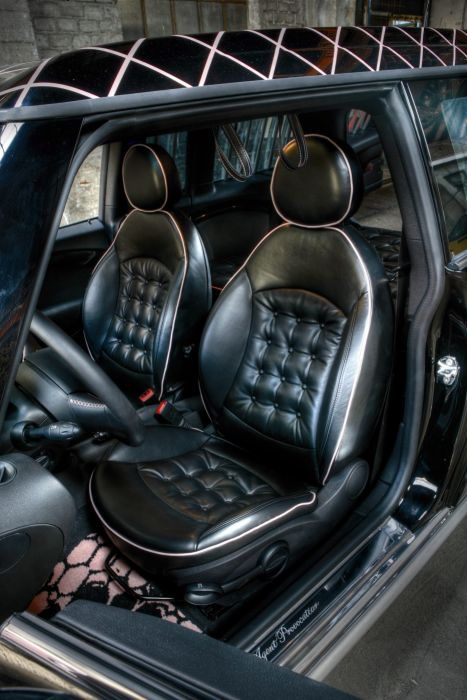 2008 MINI Cooper Clubman Agent-Provocateur R55 police emergency wallpaper