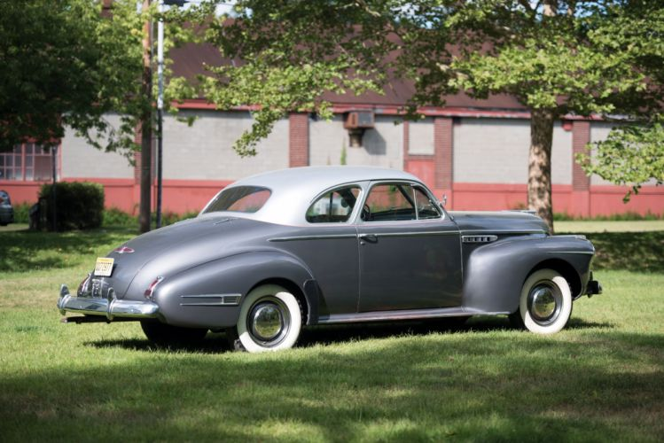 1941 Buick Super Business Coupe retro wallpaper