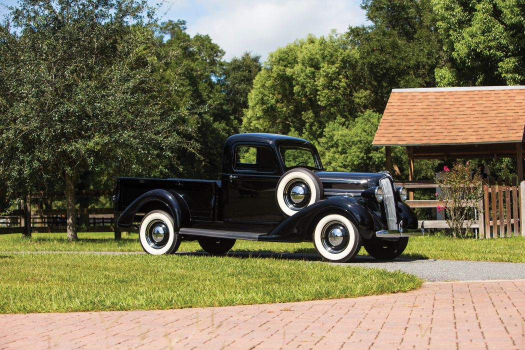 1937 Plymouth PT50 Pickup truck vintage wallpaper
