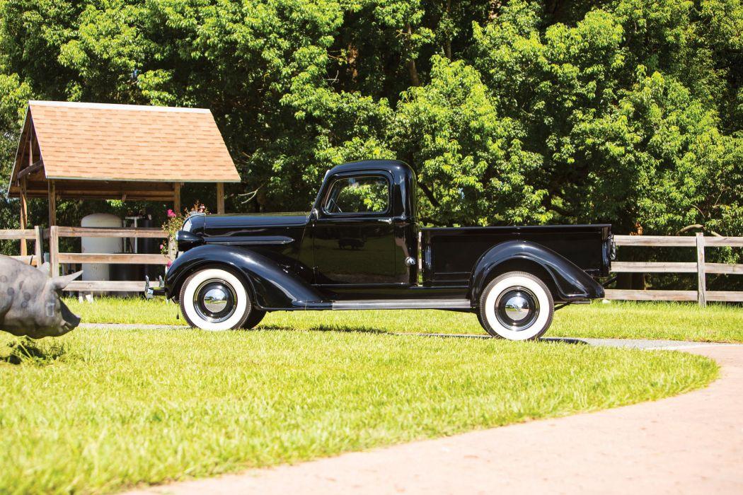 1937 Plymouth PT50 Pickup truck vintage wallpaper