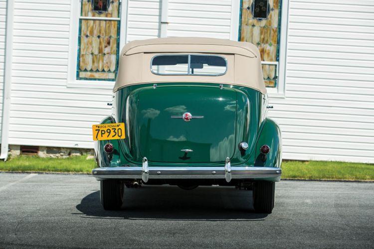 1936 Buick Roadmaster Convertible Phaeton 80C vintage wallpaper