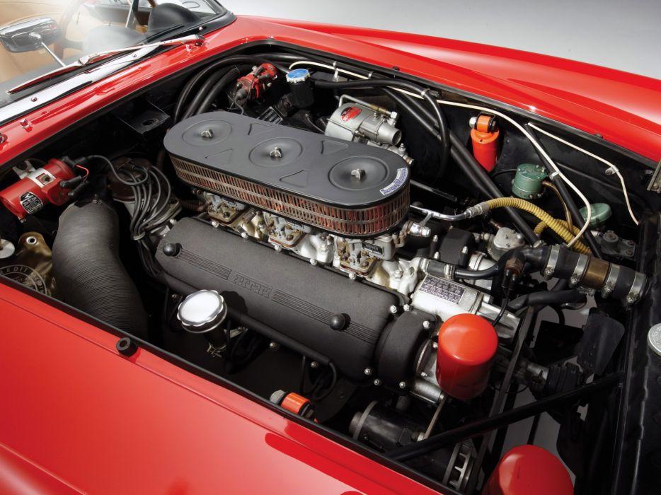 1960-63 Ferrari 250 G-T California Spyder Passo Corto classic supercar wallpaper