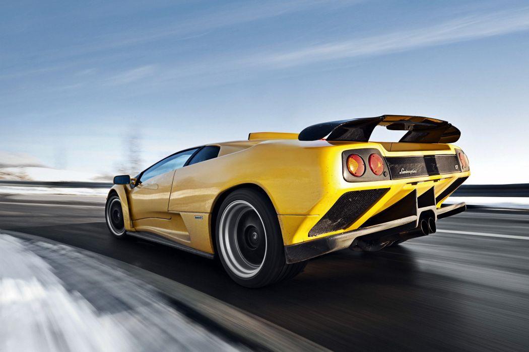 1999 Lamborghini Diablo G-T supercar wallpaper