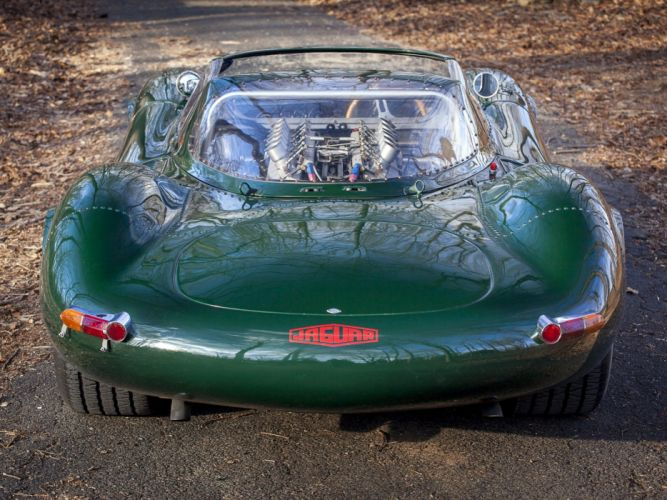 1966 Jaguar XJ13 V12 Prototype Sports Racer supercar race racing wallpaper