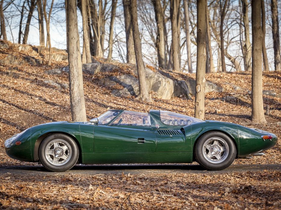1966 Jaguar XJ13 V12 Prototype Sports Racer Supercar Race Racing Wallpaper