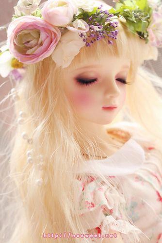 doll toys long hair girl beauty dress cute blonde wallpaper