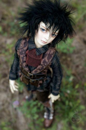 doll toys long hair male beauty cute blue eyes wallpaper