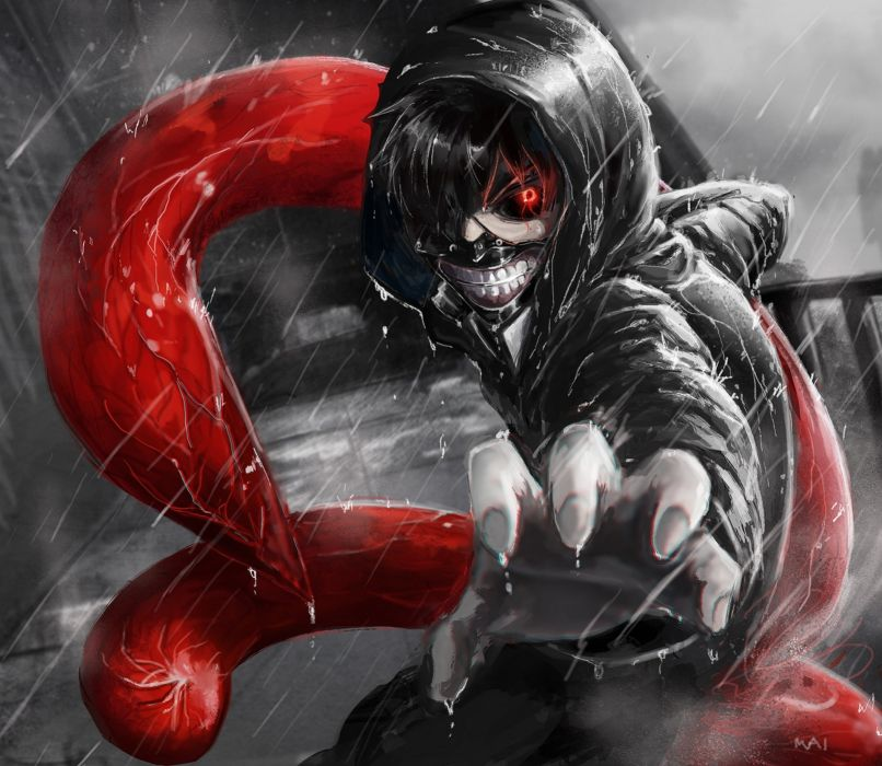 anime series tokyo ghoul character wallpaper
