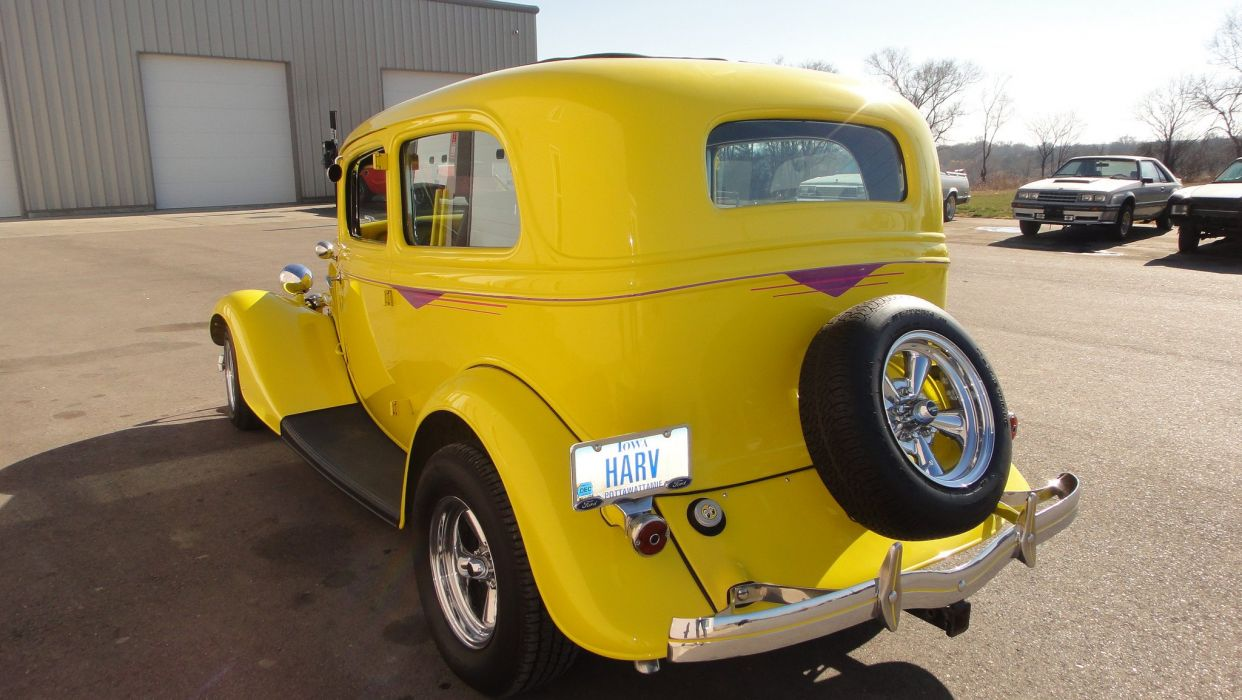 1934 Ford cars classic wallpaper
