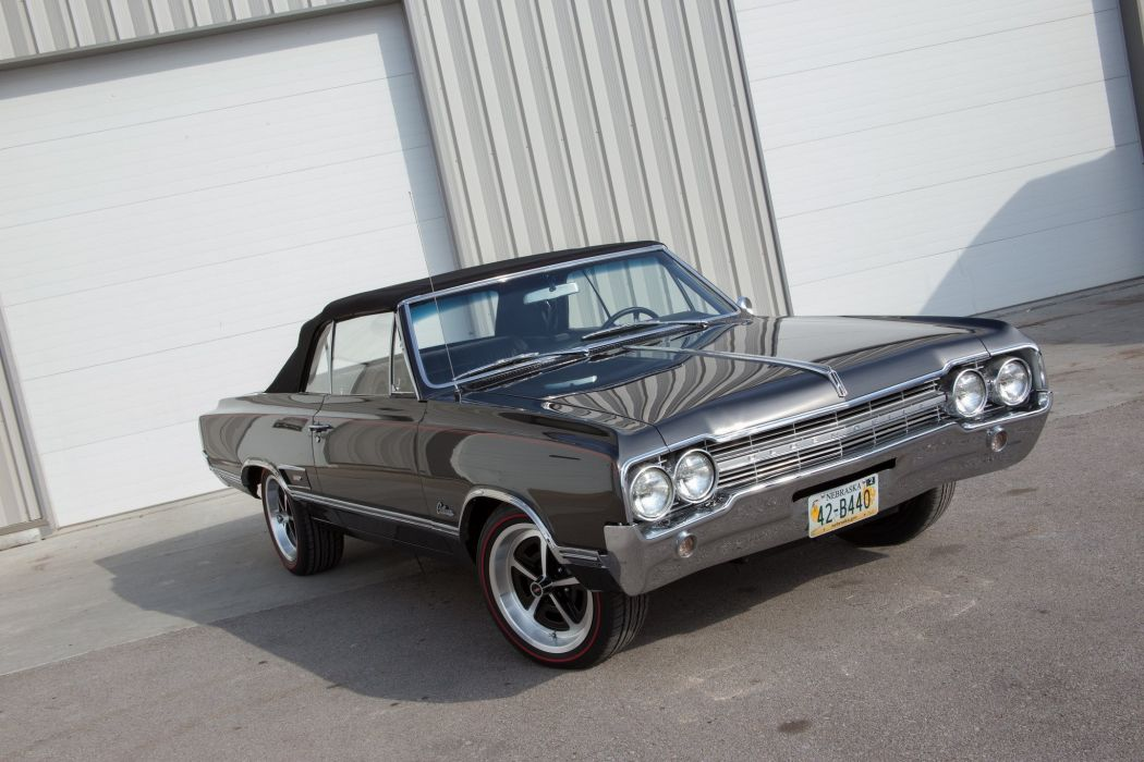 1965 Olds Cutlass 442 cars convertible wallpaper