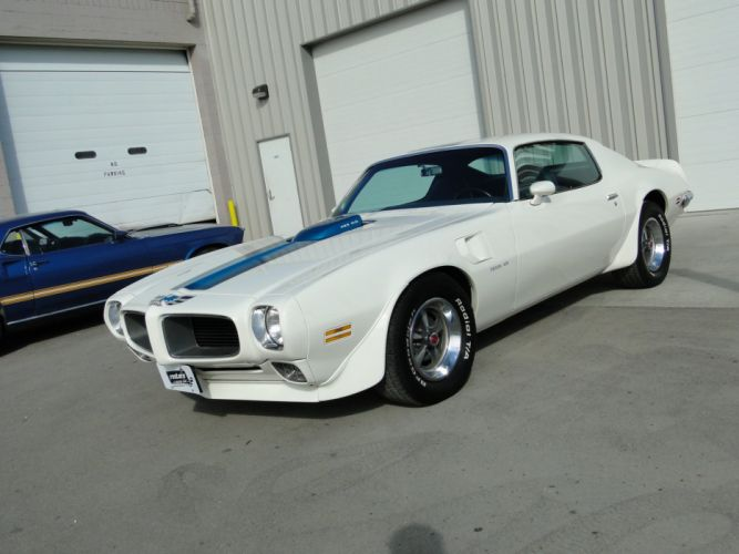 1971 White Pontiac Trans-Am coupe cars wallpaper