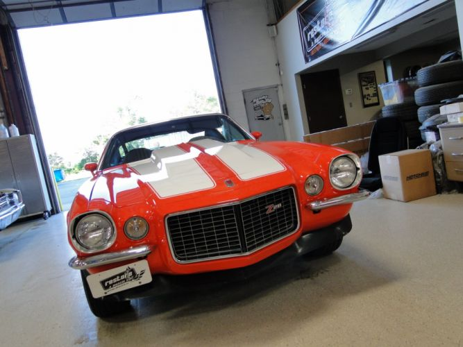 1971 Chevy chevrolet Camaro Z28 cars coupe wallpaper