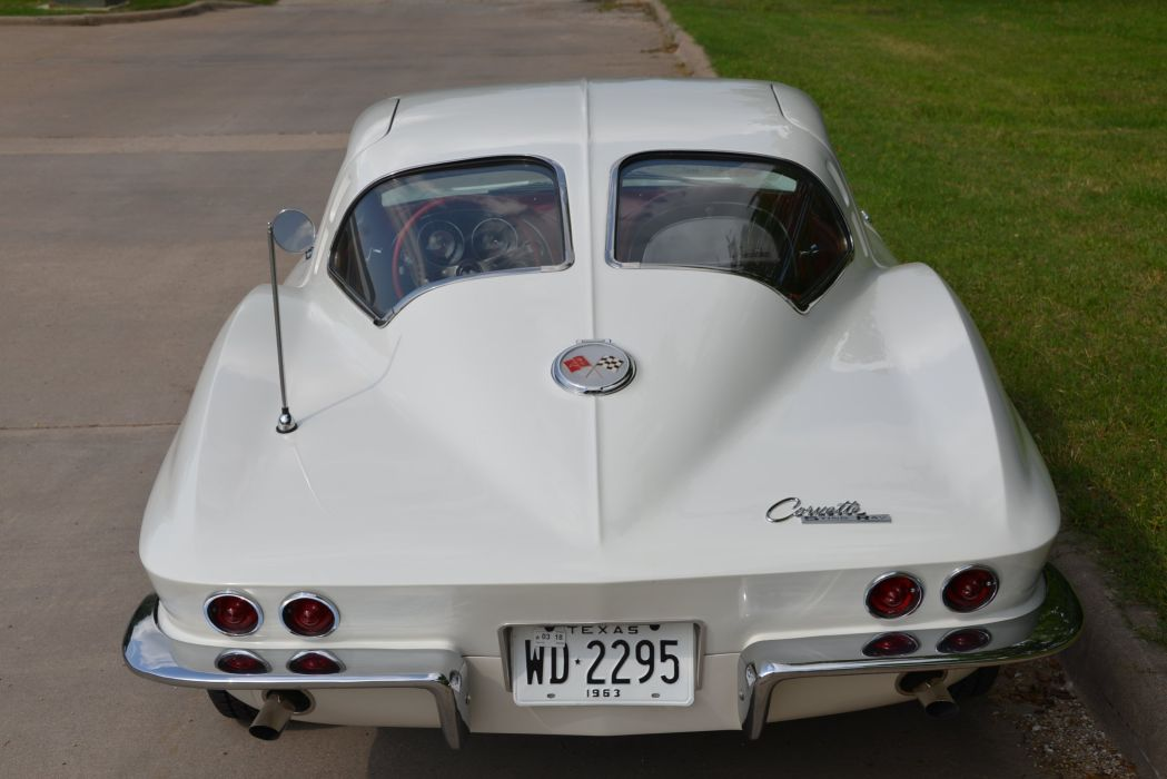 1963 Chevrolet Corvette Stingray Split-Window Coupe Muscle Classic Old Original USA -15 wallpaper