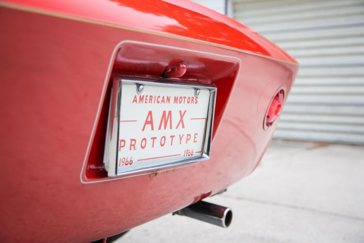 1966 AMC AMX Prototype Muscle Classic Old Original USA -14 wallpaper