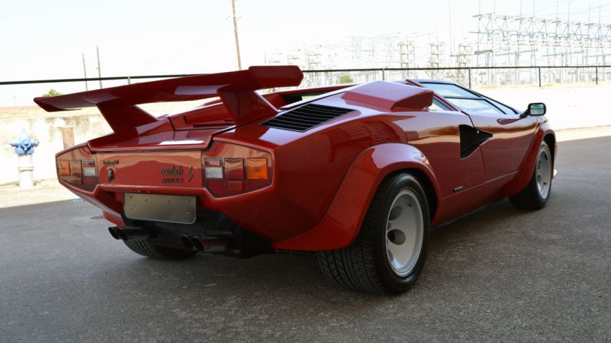 1985 Lamborghini Countach LP-500-S Supercar Exotic Italy -04 wallpaper
