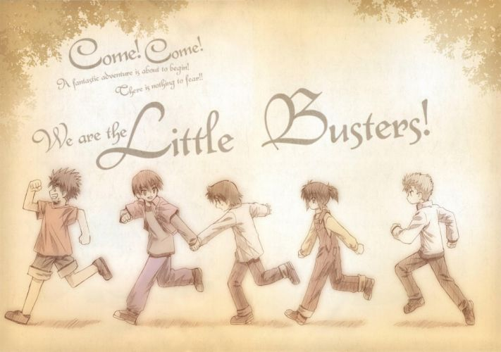 We are theLittle Busters wallpaper