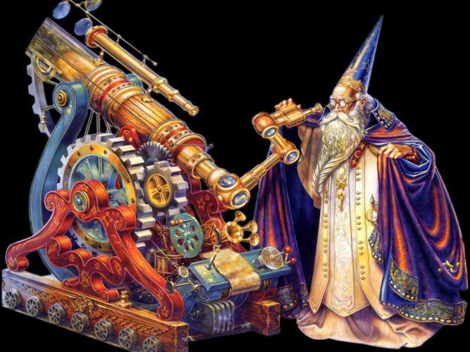 fantasy art artwork magic wizard magician sorcerer wallpaper