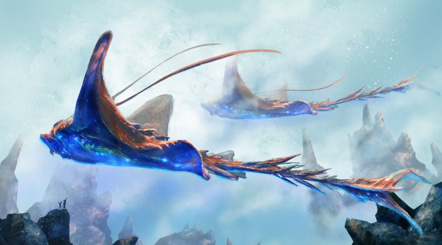 fantasy art artwork monster creature wallpaper