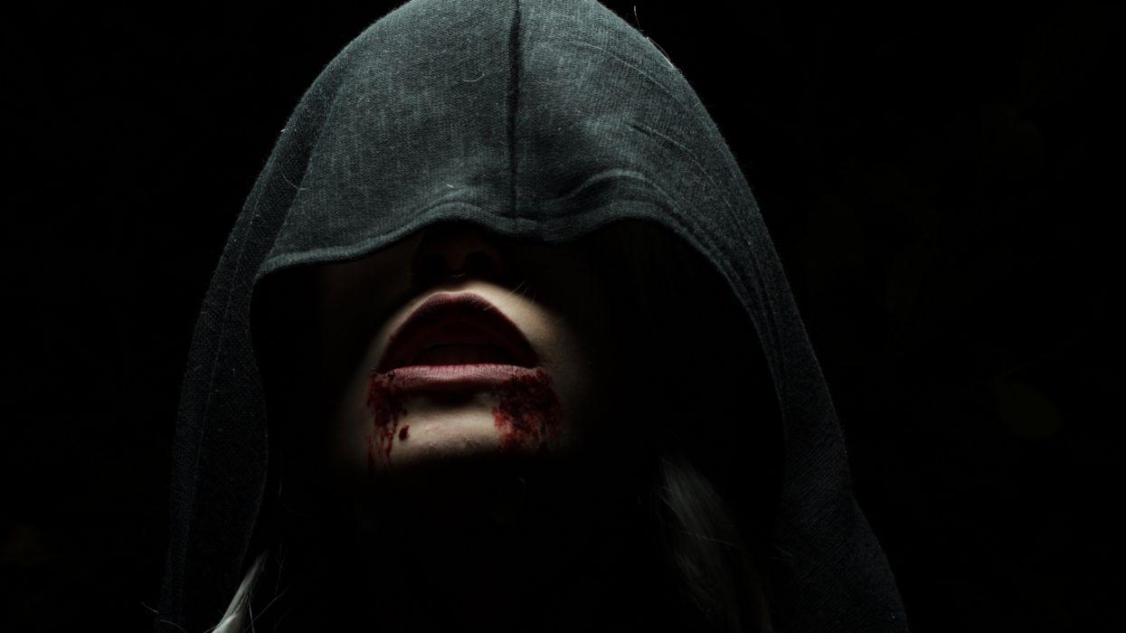 fantasy art artwork monster creature vampire evil dark wallpaper
