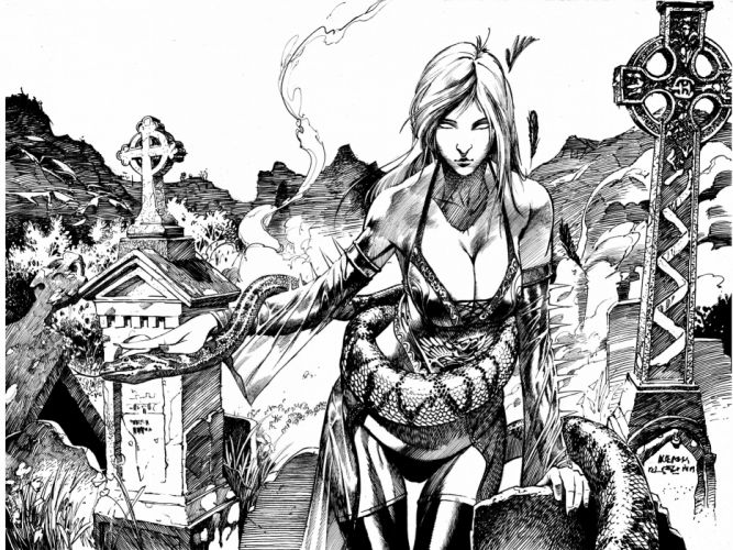 fantasy art artwork girl girls women woman female witch magic wallpaper