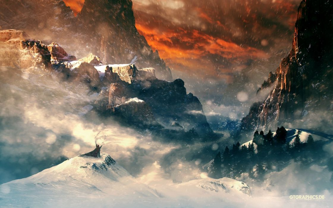 fantasy art artwork landscape nature wallpaper