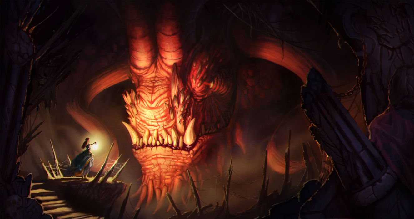 fantasy art artwork demon evil wallpaper