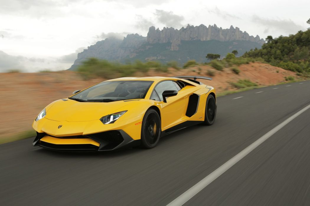 2016 Aventador cars Lamborghini LP-750-4 supercars CARS superveloce wallpaper
