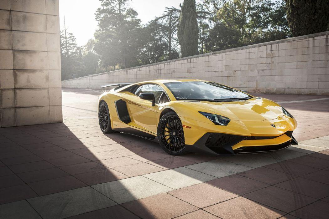 2016 Aventador cars Lamborghini LP-750-4 supercars CARS superveloce wallpaper