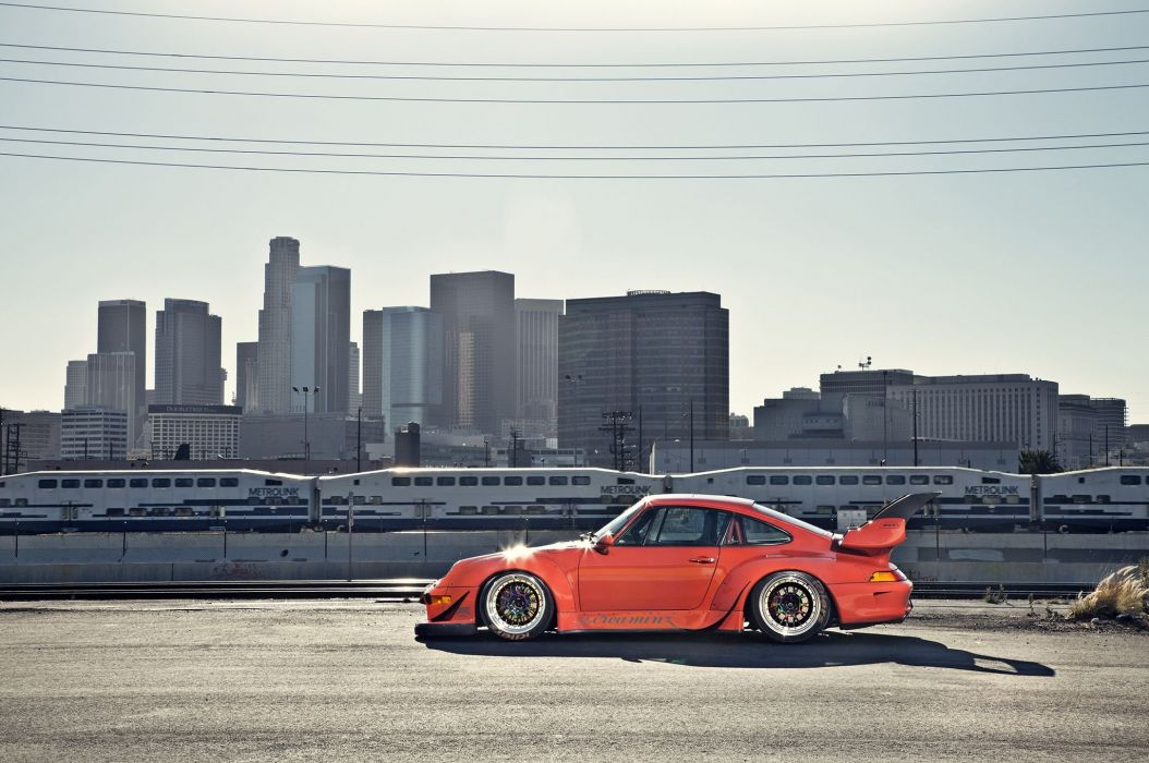 1995 porsche 911 widebody kit rwb coupe cars wallpaper