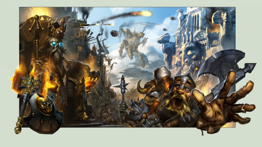 fantasy art artwork warrior battle wallpaper