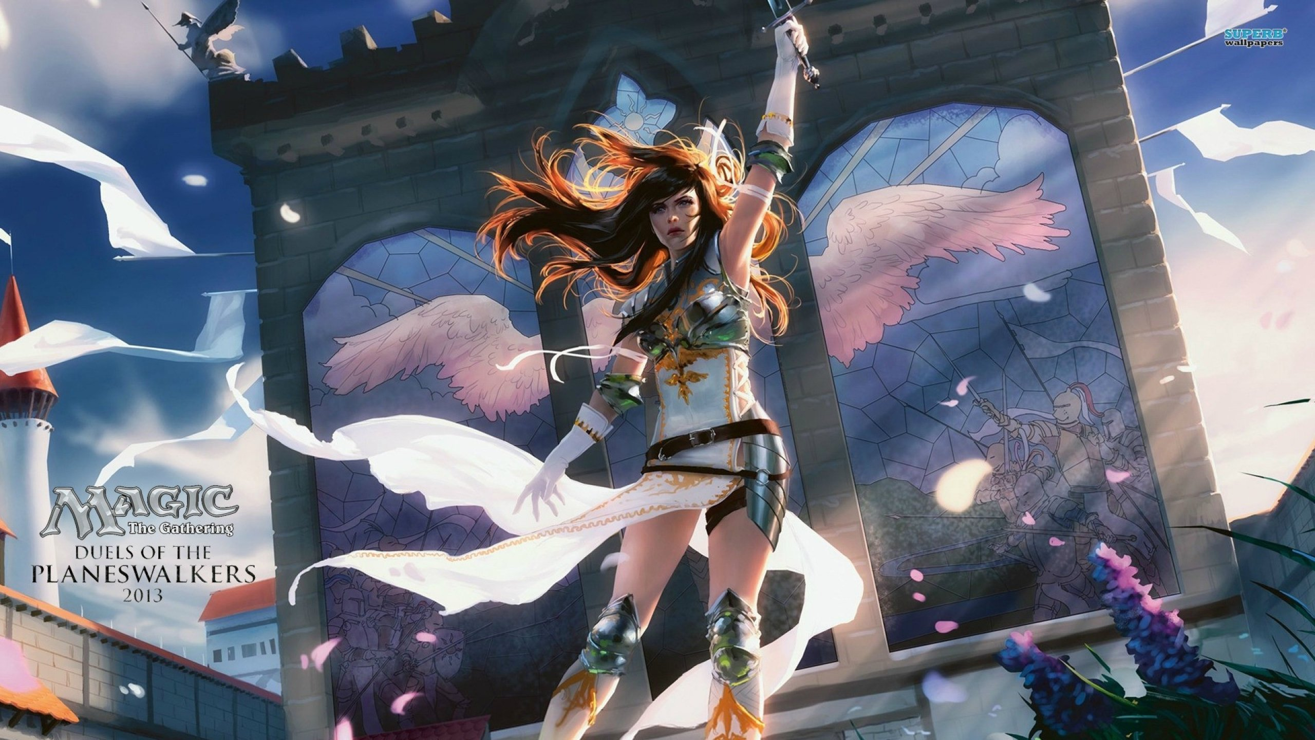 Fantasy Art Artwork Magic Gathering Dark Wallpaper 2560x1440