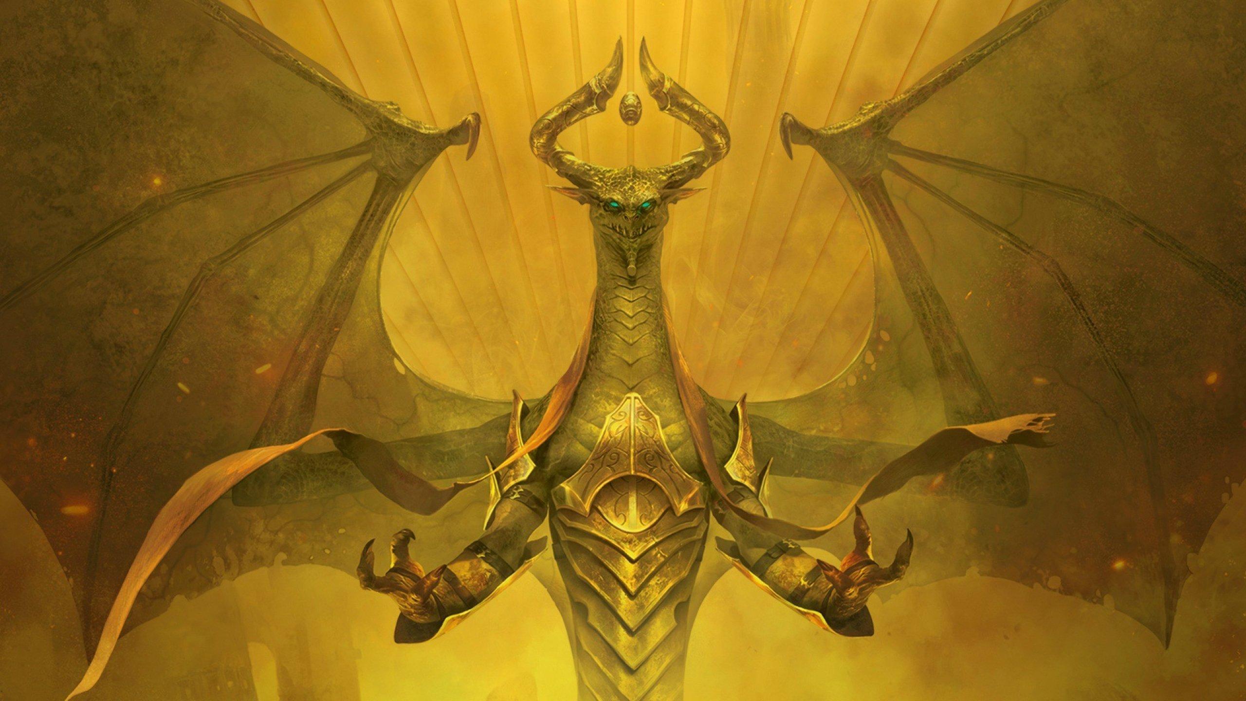 Magic the gathering wallpaper dragon