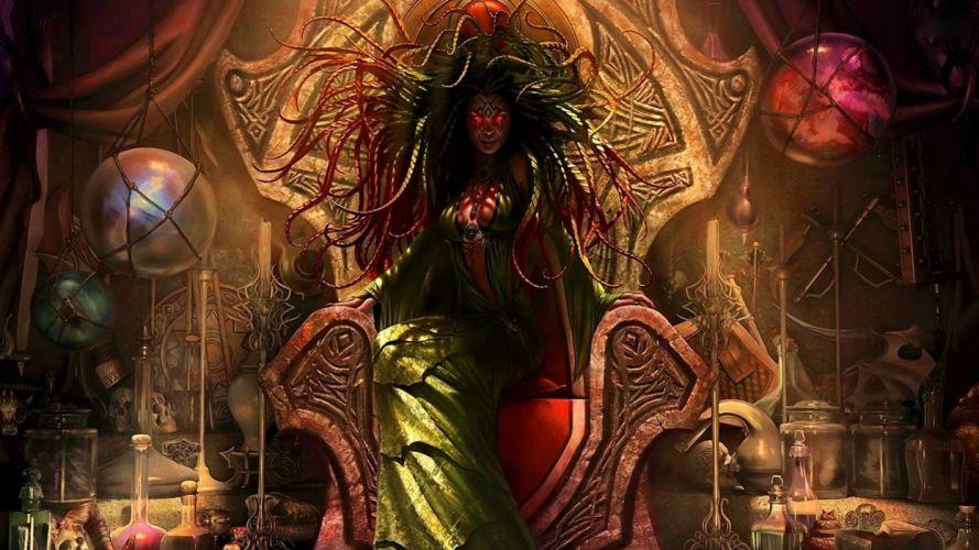 fantasy art artwork magic gathering dark demon gothic wallpaper