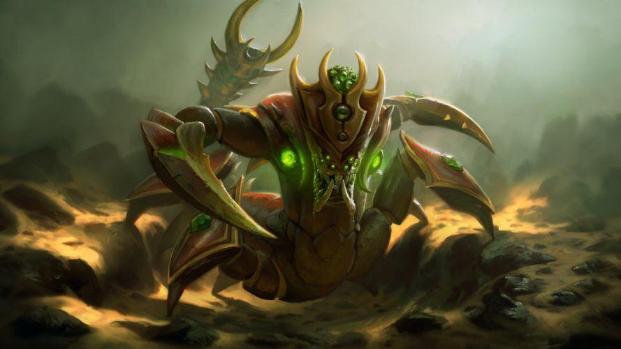 DOTA 2 Sand King Monster Games Fantasy creature wallpaper