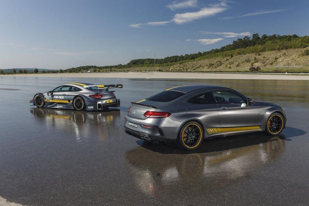 2016 Mercedes AMG C-Class Coupe DTM cars wallpaper