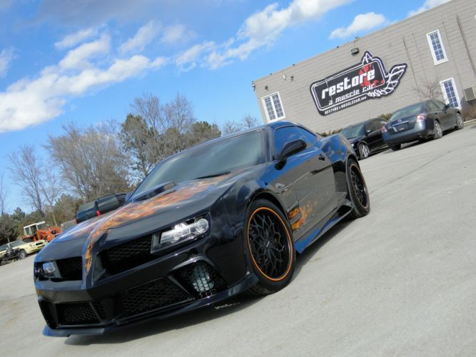 2011 Black Banshee chevy chevrolet camaro modified wallpaper