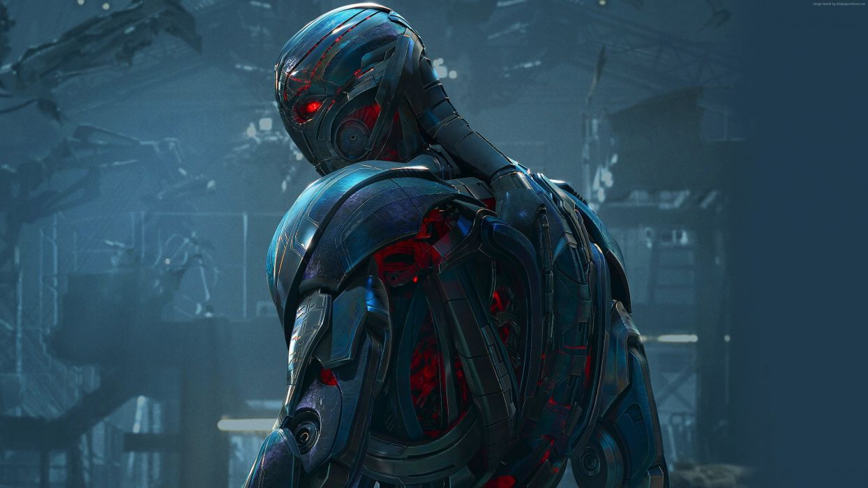 Avengers Age of Ultron Heroes comics Armor Ultron Movies Fantasy warrior artwork robot cyborg si-fi wallpaper