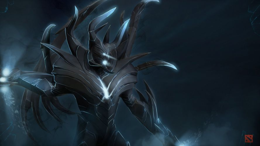 DOTA 2 Terrorblade Warrior Supernatural beings Games Fantasy artwork wallpaper