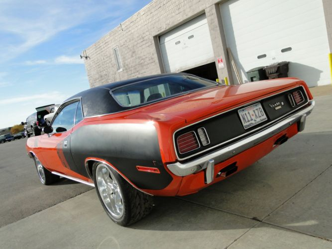 Plymouth 1971 Cuda Hemi cars coupe wallpaper