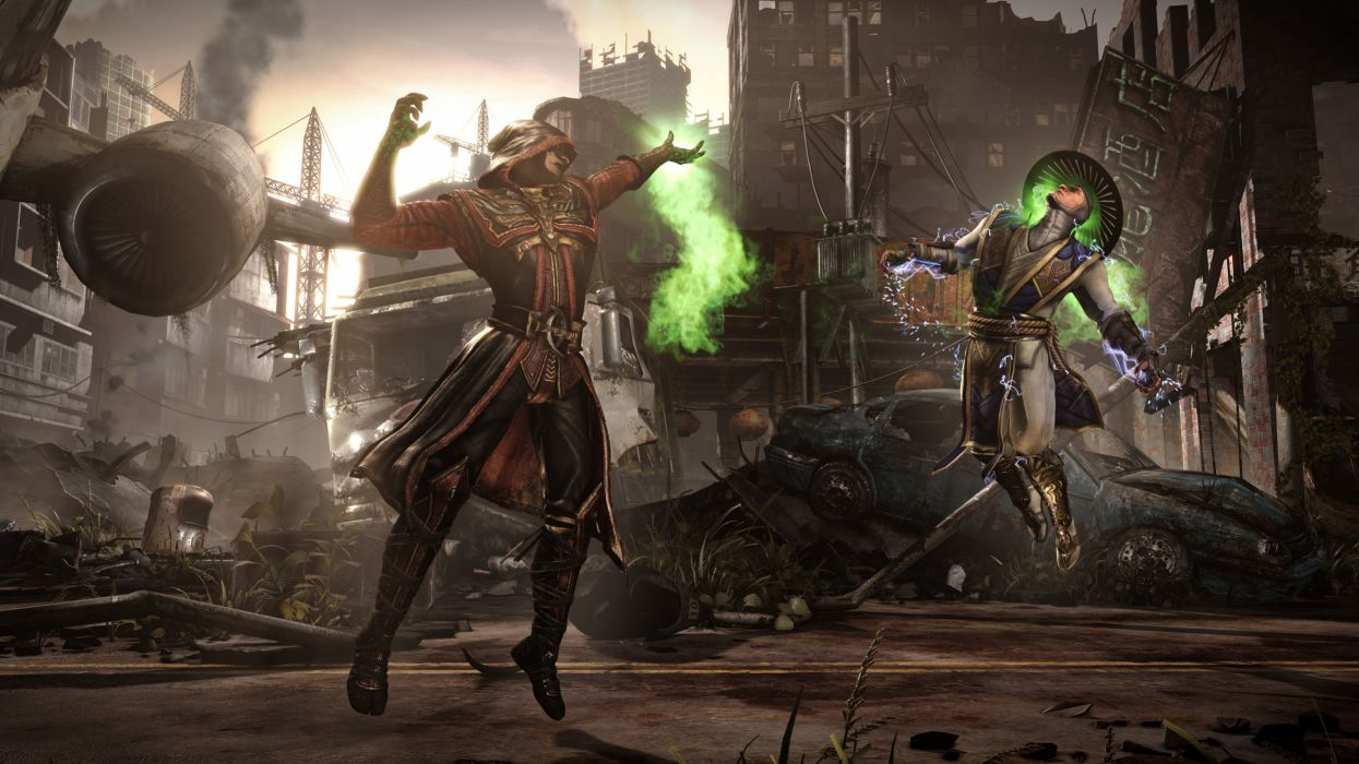 Mortal Kombat Battle Magic X Ermac Raiden Games Fantasy warrior wallpaper