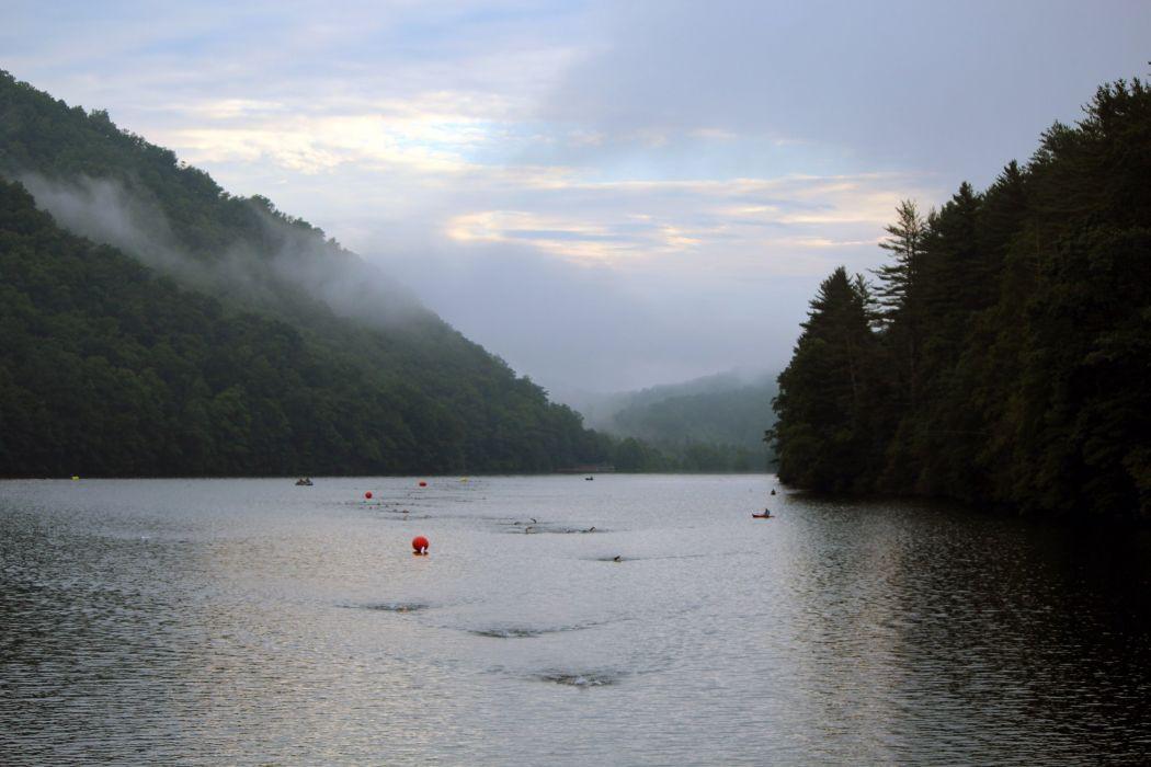lake nature water landscape wallpaper