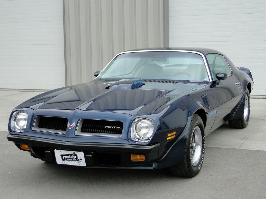 1974 Trans-Am Super Duty pontiac cars coupe wallpaper