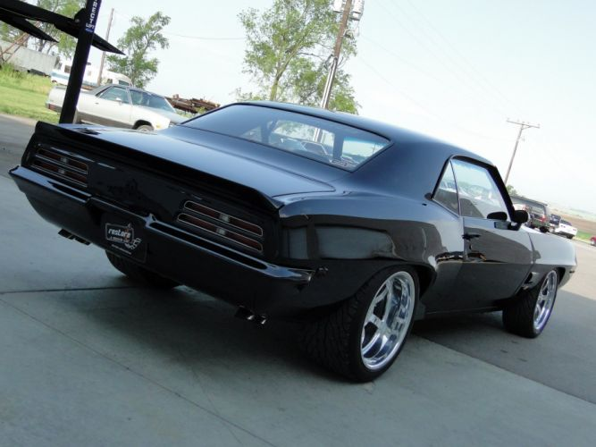1969 Pontiac Firebird 400 cars coupe black wallpaper