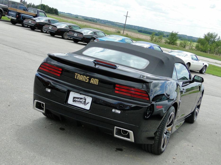 2013 ZTA Conversion chevy camaro convertible cars black wallpaper